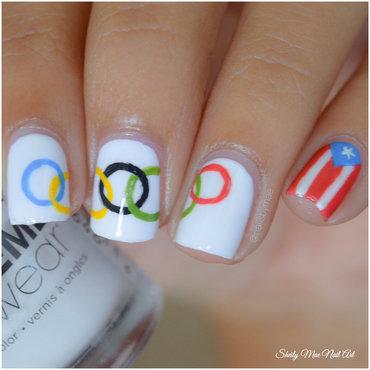 Olympics Nail Art nail art by Sheily (NailsByMae)