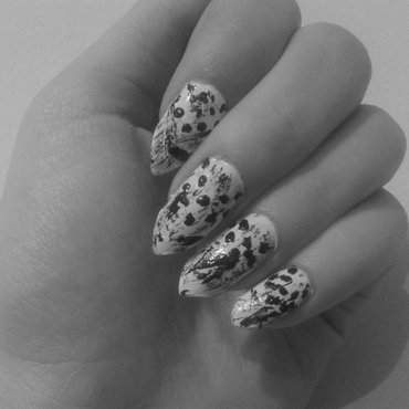 Abstract  nail art by Zeuka