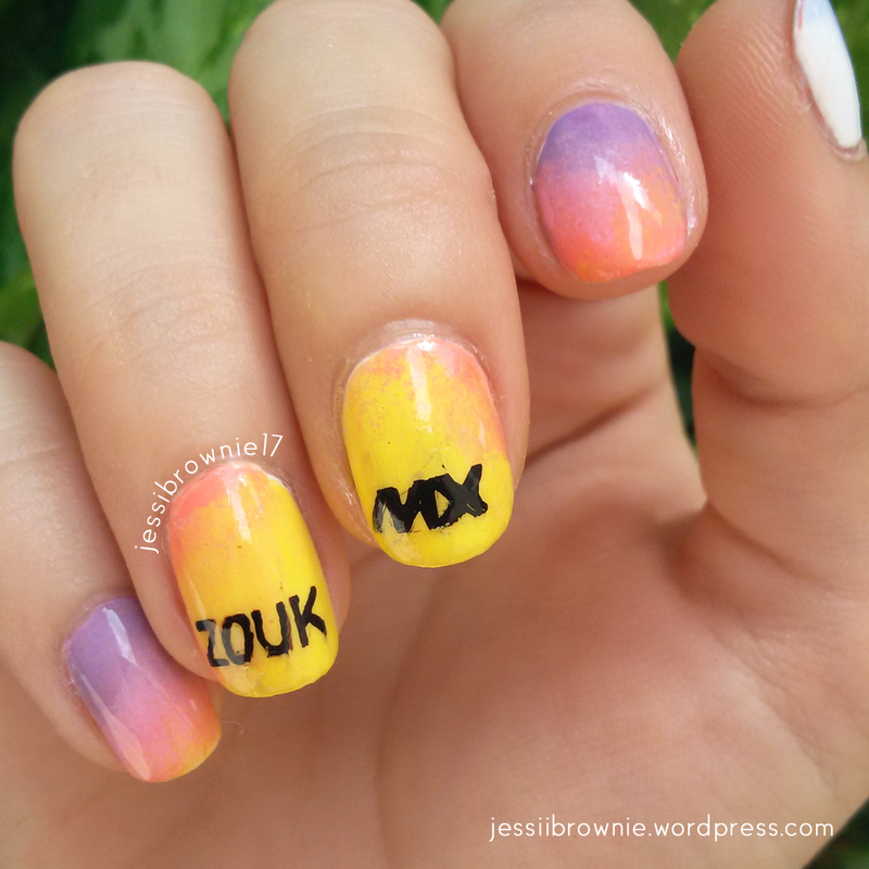 ZoukMX nail art nail art by Jessi Brownie (Jessi)