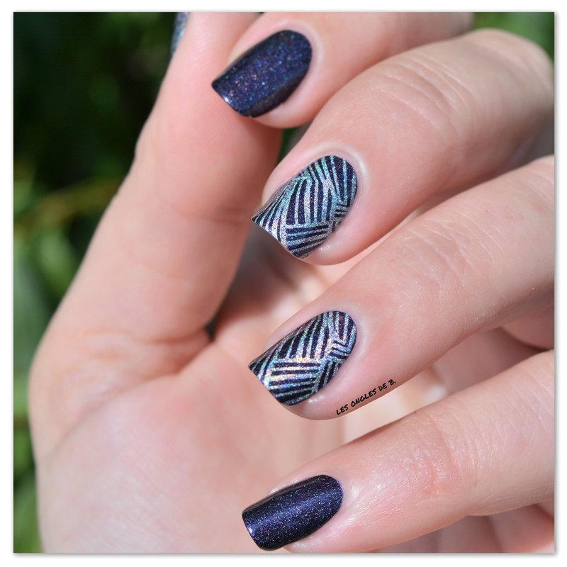 Aengland nail art by Les ongles de B.