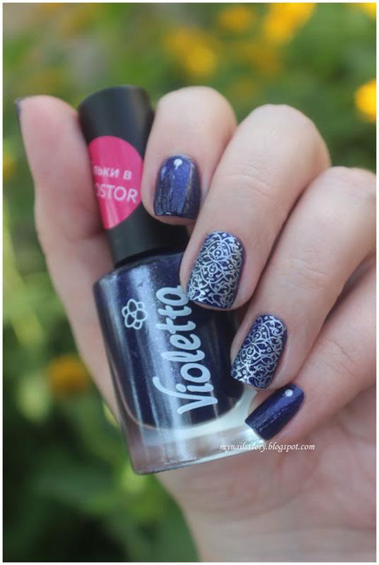 Stamping Nail Art nail art by Ekaterina