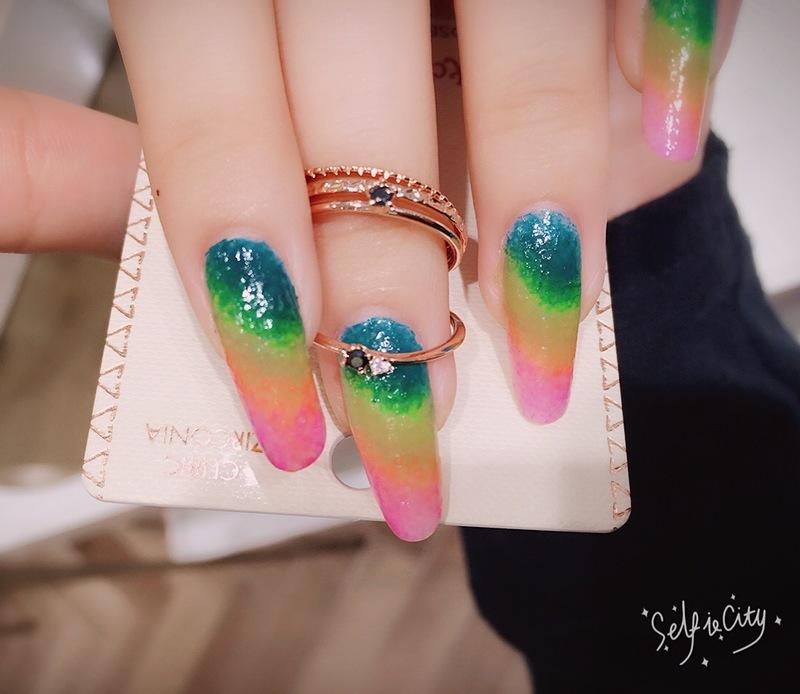 🎀Lucika🎀Rainbow🎀 nail art by Lucika Shen