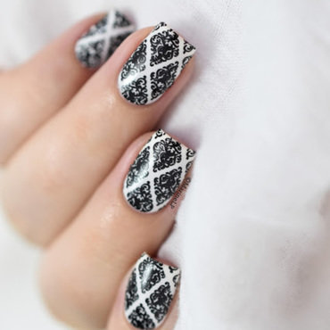 Sabon snow flakes bp l016 baroque nail art 20 5  thumb370f