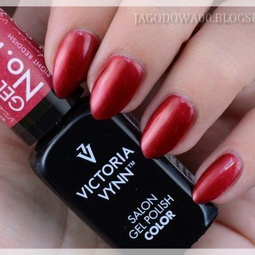 Victoria Vynn, Gel Polish Color, 118 Right Reddish Swatch by Jadwiga