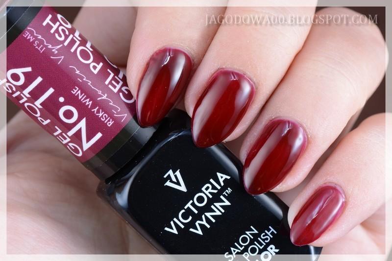 Victoria Vynn Gel Polish Color 119 Risky Wine Swatch By Jadwiga Nailpolis Museum Of Nail Art