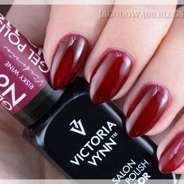 Victoria Vynn, Gel Polish Color, 119 Risky Wine Swatch by Jadwiga