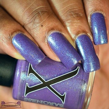 Baroness X Bodhi Tree Swatch by glamorousnails23
