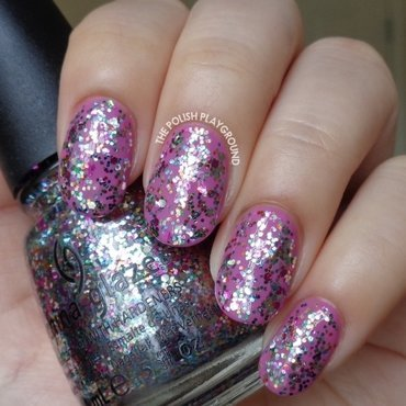 China Glaze Pizzazz Swatch by Lisa N