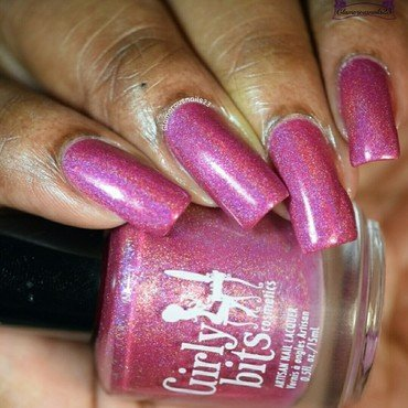Girly Bits Crantini Swatch by glamorousnails23