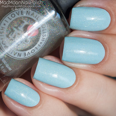 Essie Mint Candy Apple and ILNP My private Rainbow Swatch by Irina Zorg