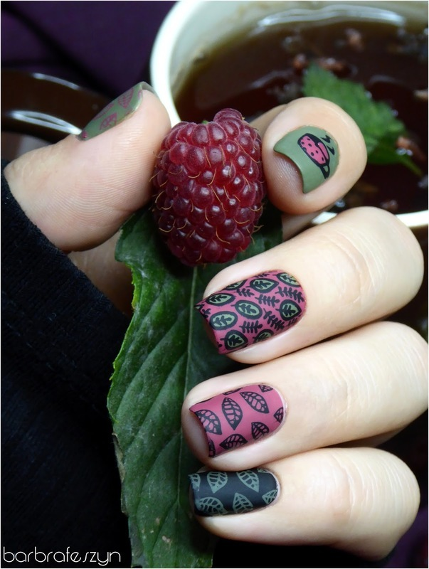 Tea time nail art by barbrafeszyn