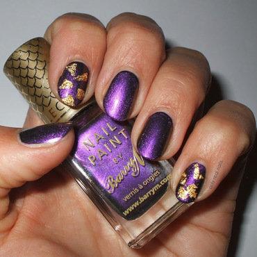 Persian nail art by only real nails.