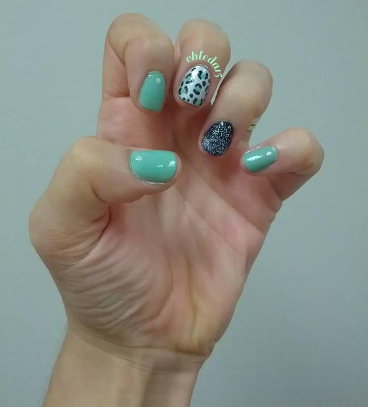 You Have to Start Somewhere... nail art by chleda15