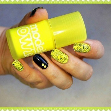 Summer's still here nail art by ELIZA OK-W