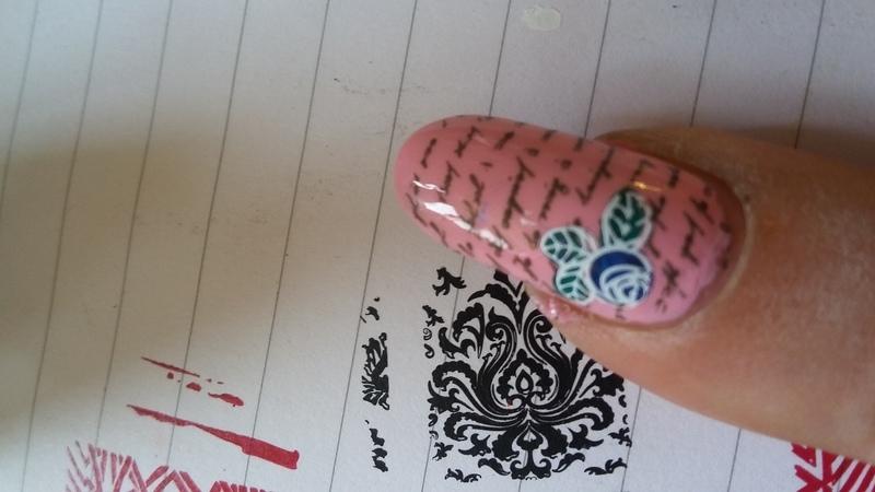 love letter nail art by ForfarChipie