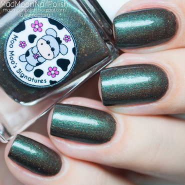 Moo Moo's Signatures Don't Wake The Monster In The Woods Swatch by Irina Zorg