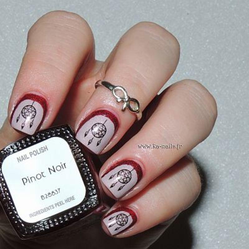 Attrape-Rêves nail art by Ka'Nails