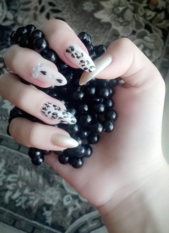 Animal print nails nail art by dragana96