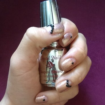 Negative space nude nail art nail art by Ro Ags