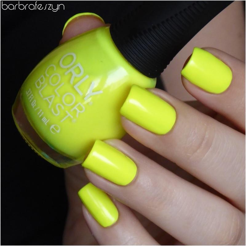Orly Color Blast Fun in the sun Swatch by barbrafeszyn