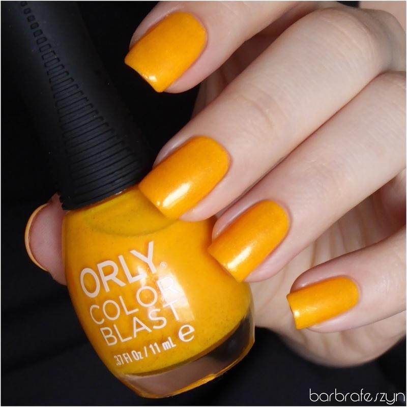 Orly Color Blast Sunday Funday Swatch by barbrafeszyn