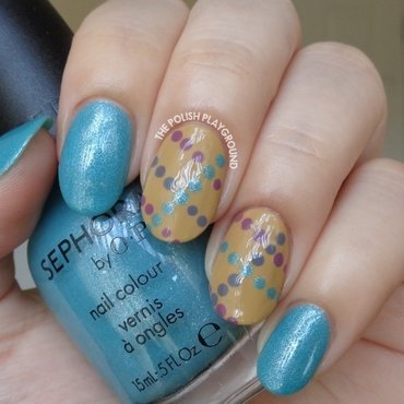Light 20blue 20shimmer 20with 20dotted 20lines 20nail 20art thumb370f