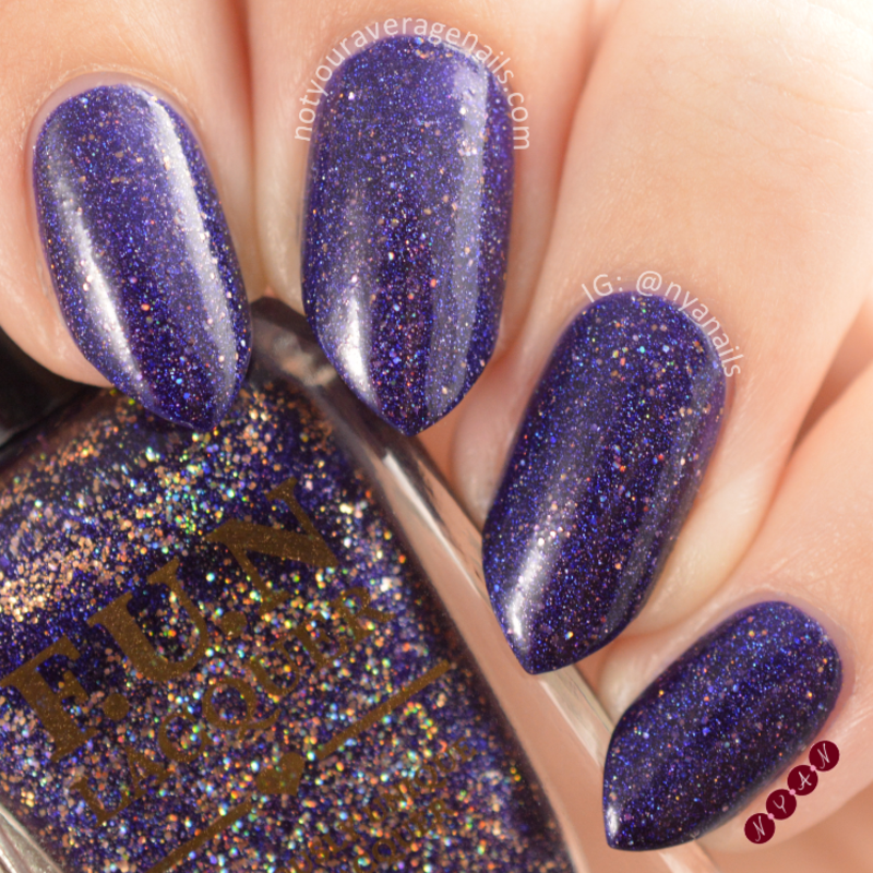 Fun Lacquer Moonlight Nocturne Swatch by Becca (nyanails)