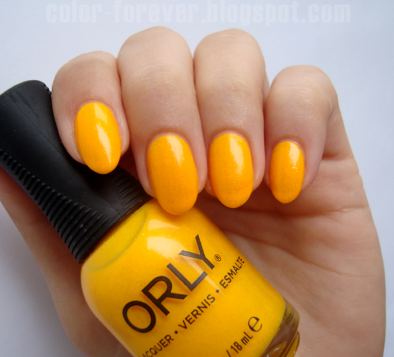 Orly Summer Sunset Swatch by ania