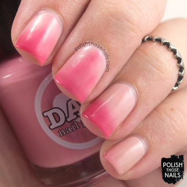 Dam Nail Polish Blushing Nudie Swatch by Marisa  Cavanaugh