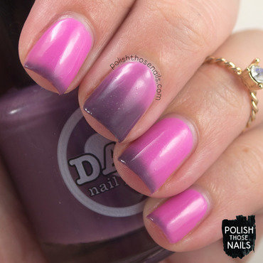 Damn nail polish exotic horizon pink purple thermal swatch 3 thumb370f