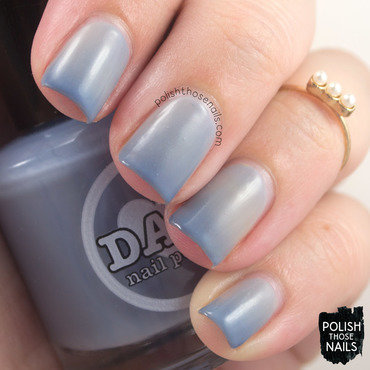 Damn nail polish cerulean skies taupe blue thermal swatch 3 thumb370f