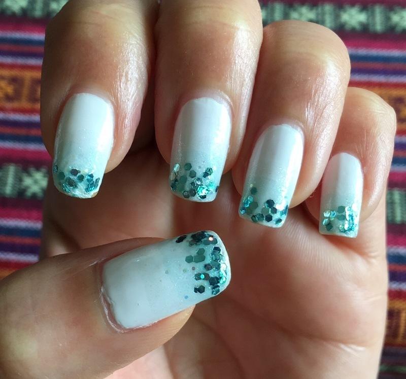 mojito nail art by Idreaminpolish