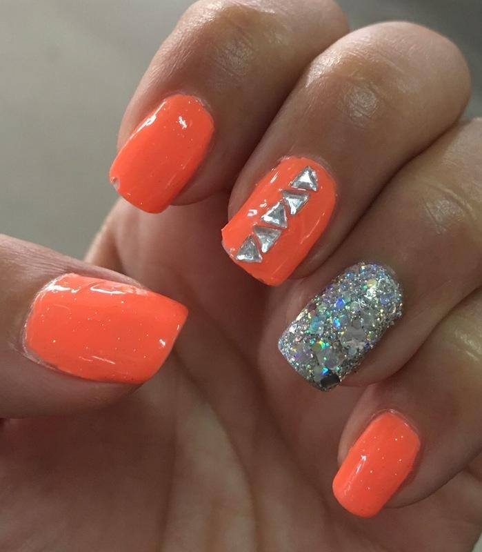 ready to glo nail art by Idreaminpolish