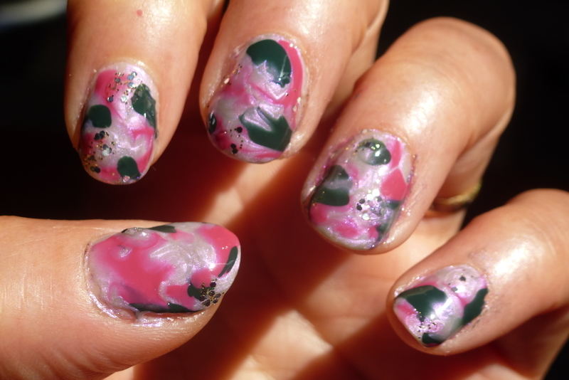 Mixie ! nail art by Barbouilleuse