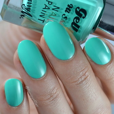 Barry M Green Berry Swatch by Furious Filer