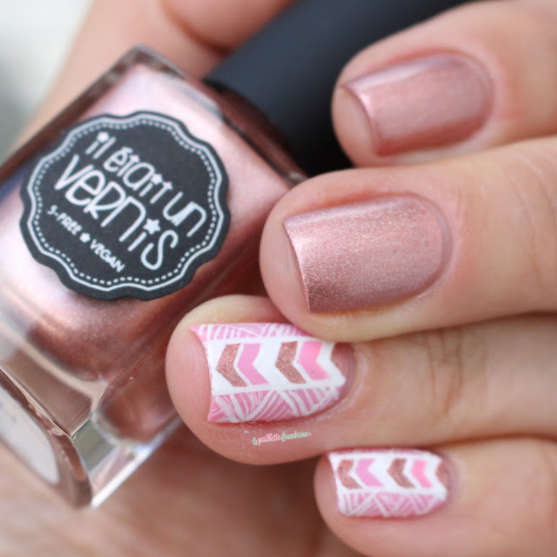 sweet aztec nail art by nathalie lapaillettefrondeuse