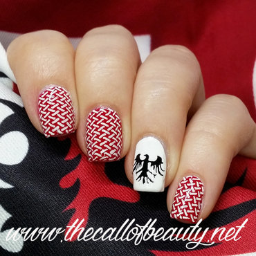 My Team Is Piazzarola nail art by The Call of Beauty