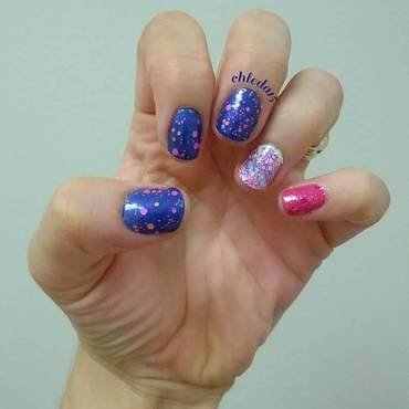 Magic Eye Try nail art by chleda15