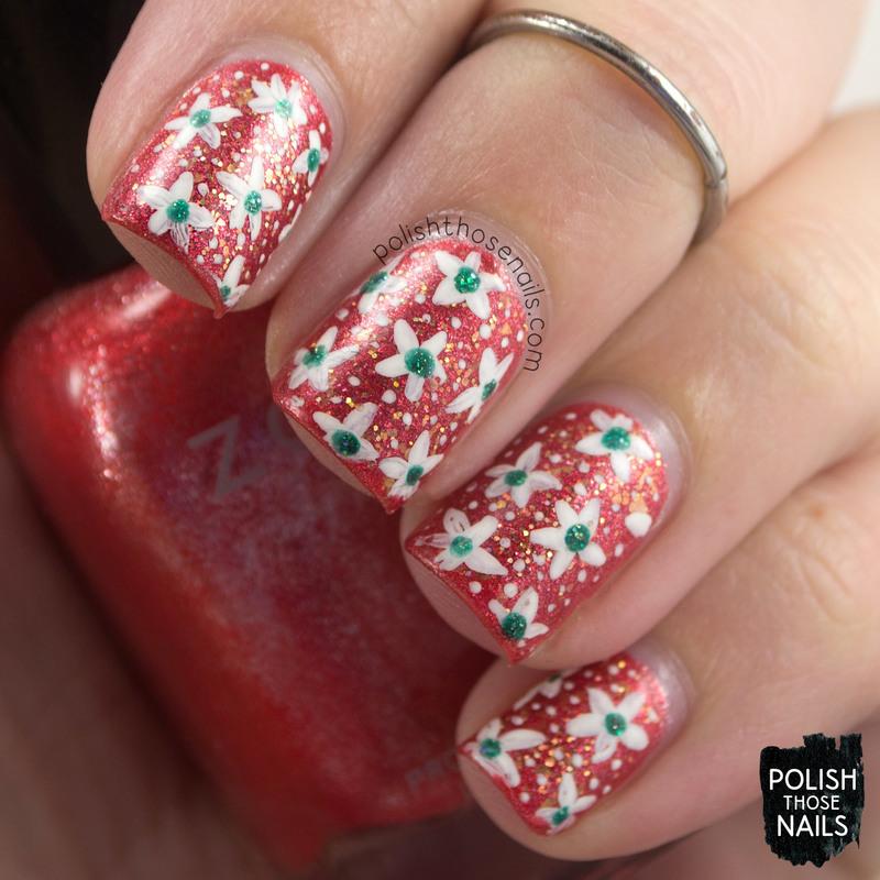 Florange nail art by Marisa  Cavanaugh