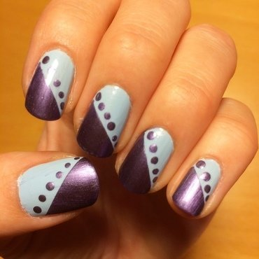 Dots nail art by skier2201