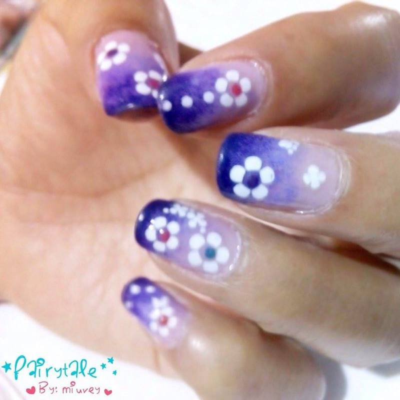 Fairytale nail art by Miuvey Cho