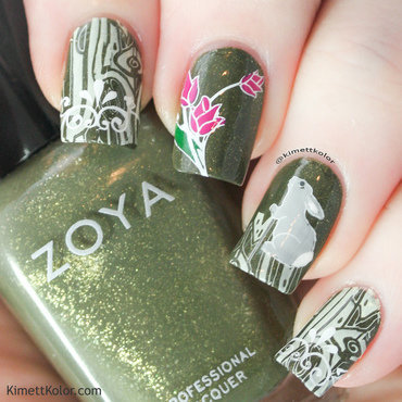 Kimettkolor 20beherenail 20bday 20green 20nature 20stamping 1 thumb370f