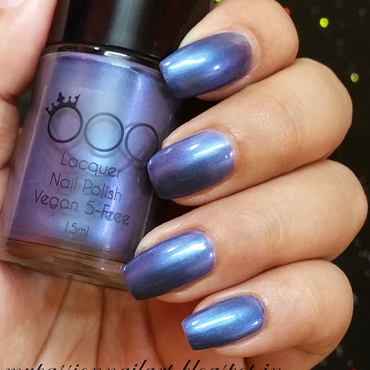 Candace OOO Polish Swatch by Aditi