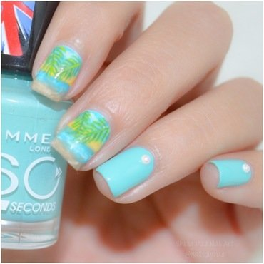 Beach Nail Art nail art by Sheily (NailsByMae)