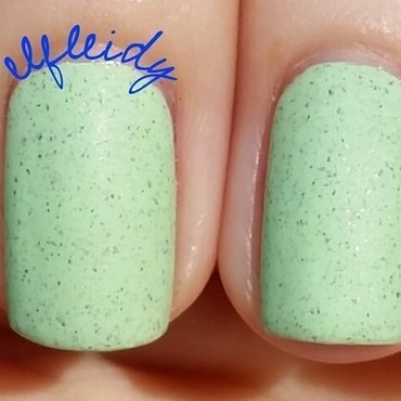 Polished For Days Mint Chip Cupcake Swatch by Jenette Maitland-Tomblin