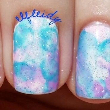 #smooshynailsunday 09-04-2016 nail art by Jenette Maitland-Tomblin