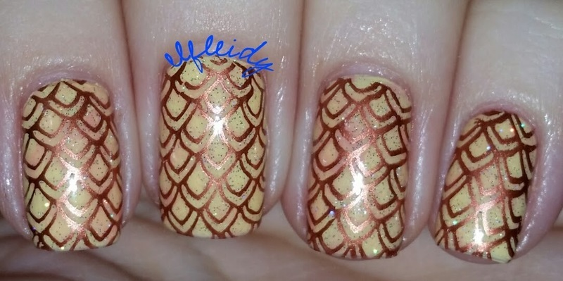 40 Great Nail Art Ideas 09-02-2016 nail art by Jenette Maitland-Tomblin
