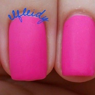 Wet 'n wild Matte Top Coat, China Glaze I'll Pink to That, and Lavish Polish Pink Lemonade Swatch by Jenette Maitland-Tomblin