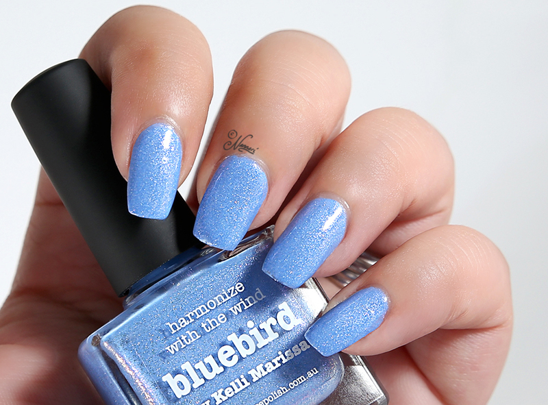 piCture pOlish Bluebird Swatch by Nanneri