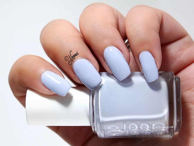 Essie Virgin Snow Swatch by Nanneri